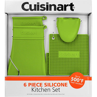 Cuisinart 6-Piece Silicone Kitchen Set (Various Colors)