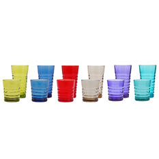Tritan Tumblers 12-pack - Various Colors