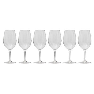 Tritan Wine Glasses 6 Piece  -  Various Colors