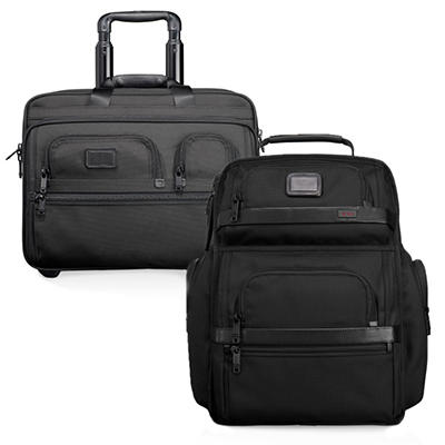 Tumi Alpha - Wheeled Brief and Brief Pack Combo