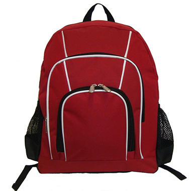 "16"" Backpack Red Case - 30 pk."