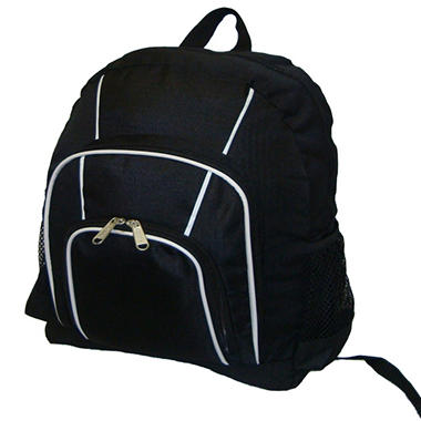 "16"" Backpack Black Case - 30 pk."