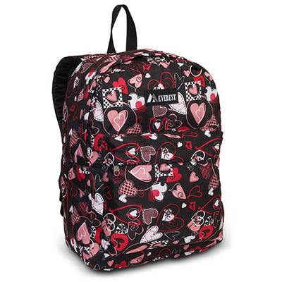 "16.5"" Backpack Hearts Case - 30 pk."