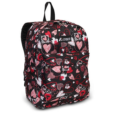 "16.5"" Backpack Hearts Case - 30 pk."