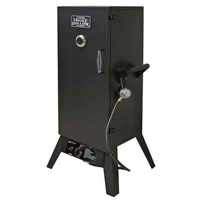 "Smoke Hollow 34"" LP Gas Smoker - Original Price $199.98, Save $20"