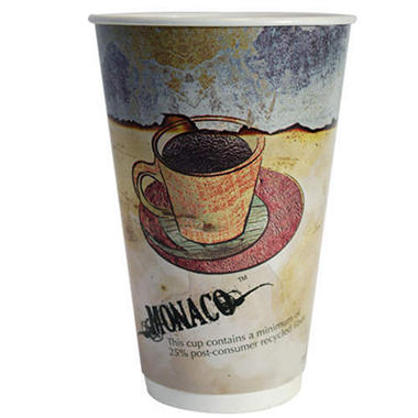 LBP 20 oz. Hot Beverage Cup - Monaco Design - 540 ct. Case