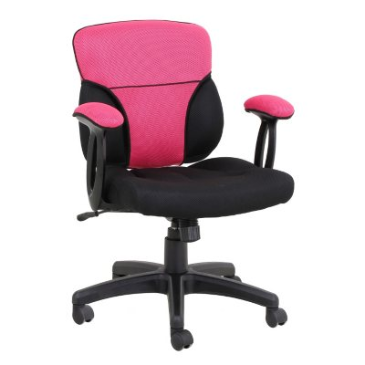 Reversible Pink and Melon Cover for Cool Task Chair - Cover only