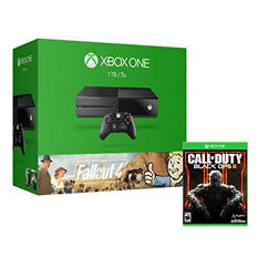 Xbox One 1TB Console Bundle with Fallout 4 and Call of Duty: Black Ops III