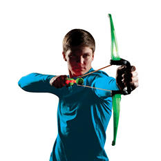 Zombie Salyerz Firetek Bow-Choice of Red or Green