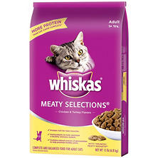 Whiskas Meaty Selections Cat Food (15 lbs.)