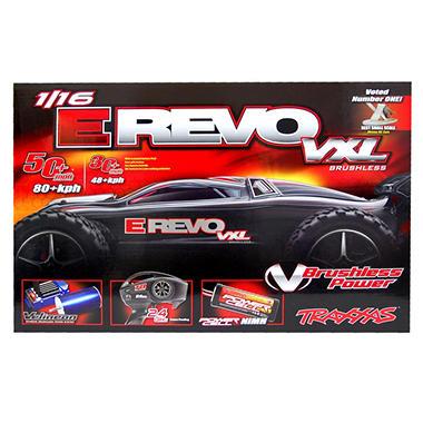 1/16 Revo VXL Read To Race Car - Silver