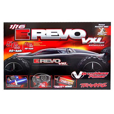 1/16 Revo VXL Read To Race Car - Silver