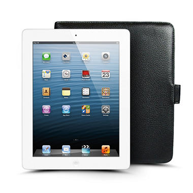 Apple iPad with Retina Display 16GB w/ Wilson's Leather Case