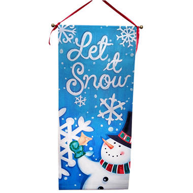 Christmas Banners - Let It Snow