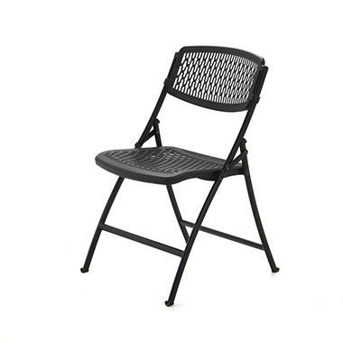 Mity Lite Flex One Folding Chair Black 4 Pack Sam S Club