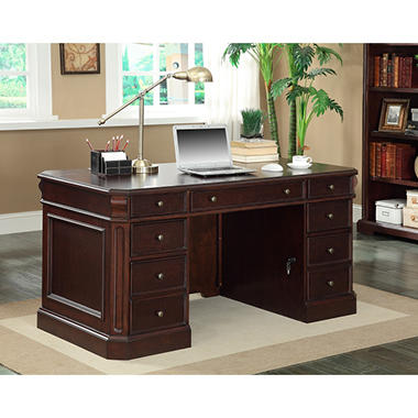 Thomasville - Geneva Double Pedestal Executive Desk