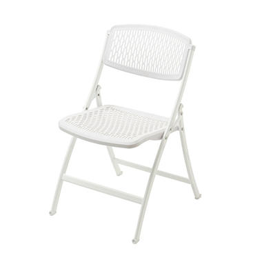 Mity Lite Flex One Folding Chair, White (Select Quantity)