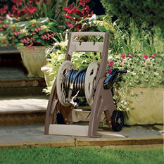 Suncast 175 ft. Hosemobile Hose Reel Cart, Dark Brown