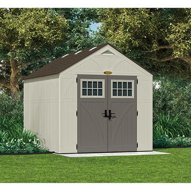 Suncast 8' x 10' Tremont Storage Shed - Sam's Club