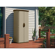 Suncast 20-cu. ft. Vertical Shed