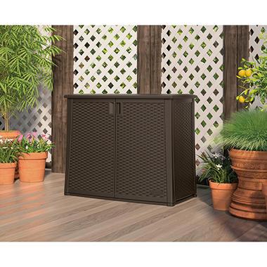suncast outdoor patio cabinet by suncast item 267324 model bmoc4100