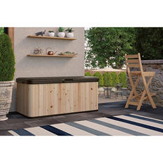Suncast 120-Gallon Extra Large Hybrid Deck Box