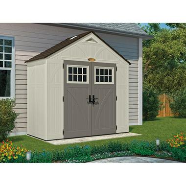 Suncast 8' x 4' Tremont Storage Shed - Sam's Club