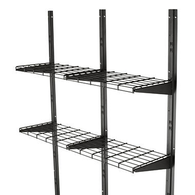 suncast shelf system by suncast item 267345 model bmsa1s