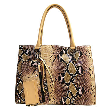 London Fog Harris Tote - Snake Print