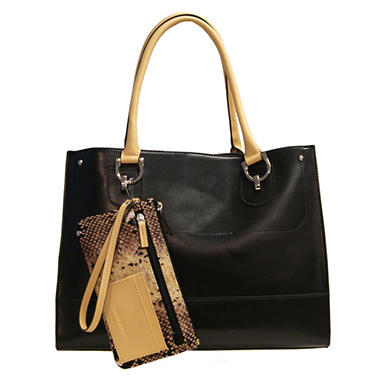 London Fog Harris Tote - Black