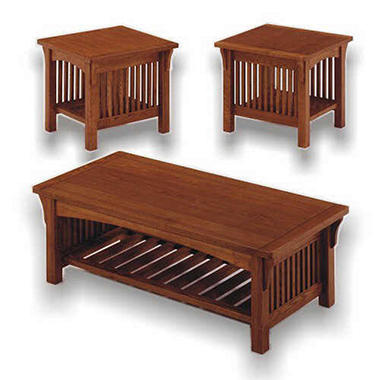 Adams Coffee Table and Two Side Tables