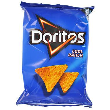 Doritos Cool Ranch Corn Chips 1 75 Oz 64 Ct Sam S Club