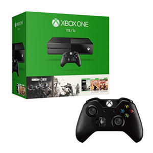 Xbox One 1TB Console Rainbow Six Siege Bundle with Extra Controller