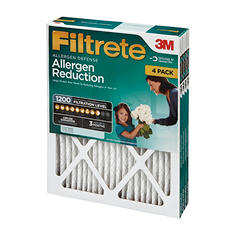 "Filtrete Allergen Reduction Filters 20"" x 20"" 4 Pack"