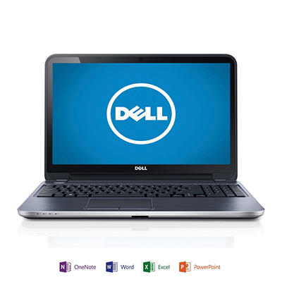 "Dell Inspiron 15R 15.6"" Laptop Computer, AMD A10-5745M, 8GB Memory, 1TB Hard Drive with Microsoft Office Home and Student 2013"