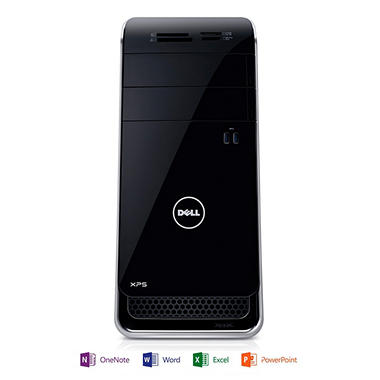 Dell XPS 8700 Desktop Computer, Intel Core i7-4770, 8GB Memory, 1TB Hard Drive with Microsoft Office Home and Student 2013