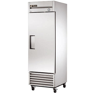 True 1-Door Stainless Steel Reach-In Refrigerator - 23 cu. ft.