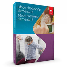 Adobe Photoshop & Premier Elements 13 Bundle