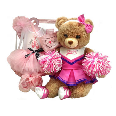 "18"" Plush Dress Up Cheer Bear"