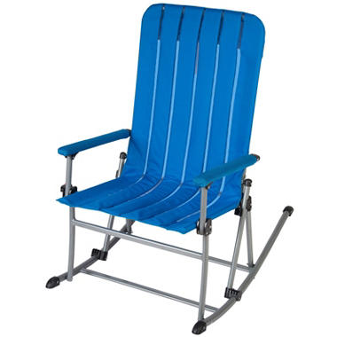 Portable Rocking Chair Blue Sam S Club