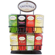 Twinings of London Tea Bag Variety Pack with Display Stand (8 boxes, 25 ct.)