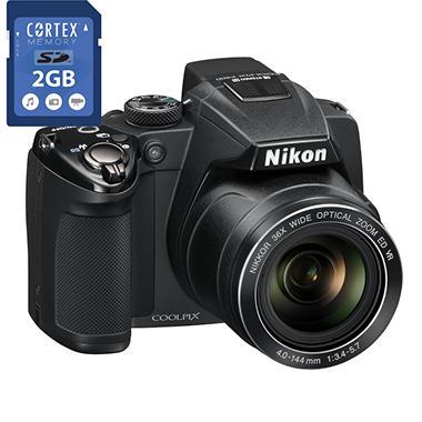 NIKON P500 2GB CARD BUNDLE