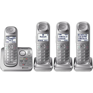 Panasonic 4 Handset Link2Cell Cordless Phone System
