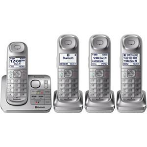 Panasonic 4 Handset Link2Cell Cordless Phone System