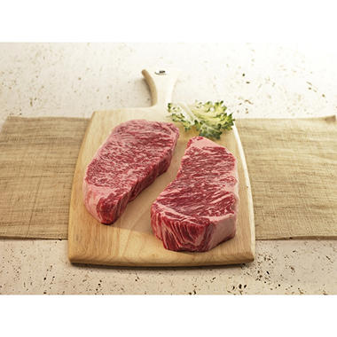 Kobe Beef 12 oz. USDA Prime Strip - 6 pk.