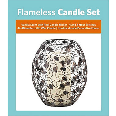 Flameless Candle Set