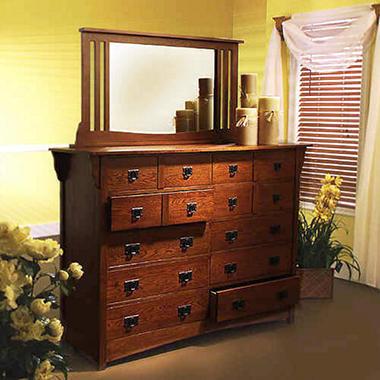 Mission Oak Dresser