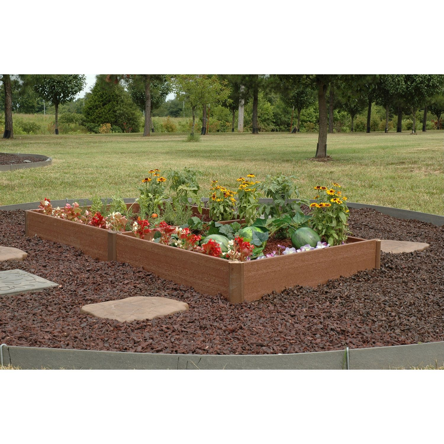 Greenland gardener raised bed garden kit 84quot x 42quot new ebay for Raised bed garden kits
