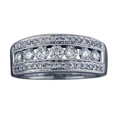 .96 ct. t.w. Diamond Band in 14K White Gold