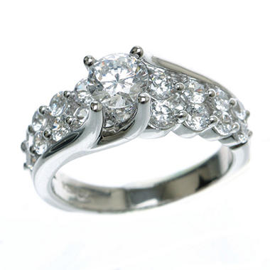 2.00 ct. t.w. Diamond Engagement Ring in 14k White Gold (H-I, I1)